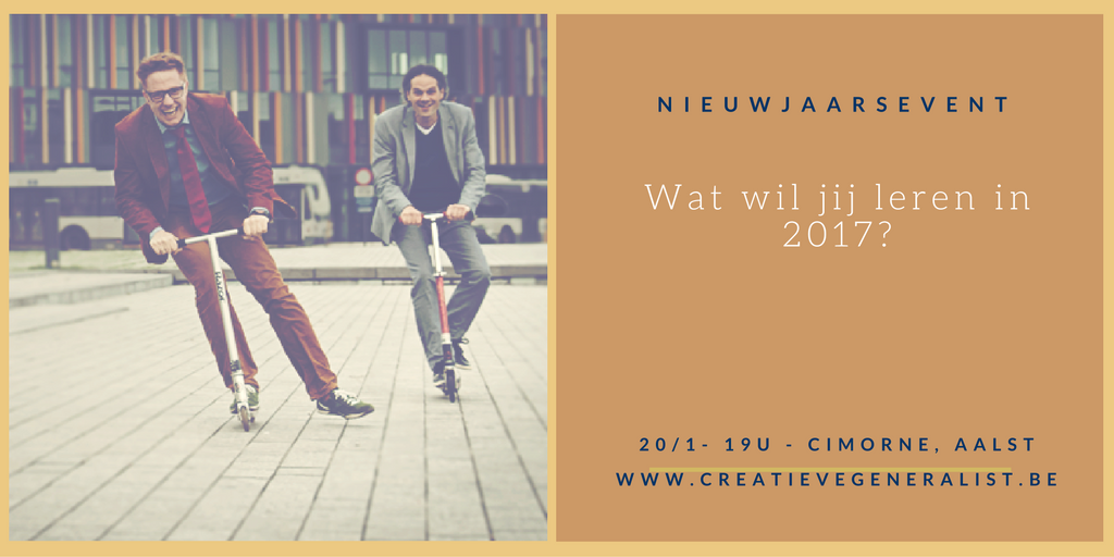 Wat wil jij leren in 2017?
